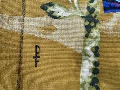 Ren Fumeron Aubusson tapestry by Ren FUMERON Like the moon woven in the Pinton workshop - 1294604