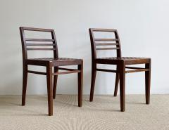 Ren Gabriel Pair of Ren Gabriel Chairs Model 103 - 1969700