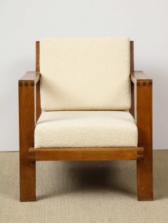 Ren Gabriel Single Lounge chair with detailed back - 1178062