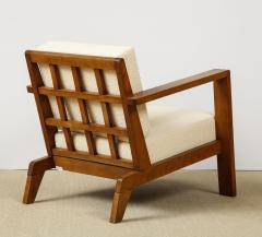Ren Gabriel Single Lounge chair with detailed back - 1178063
