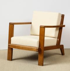 Ren Gabriel Single Lounge chair with detailed back - 1178070