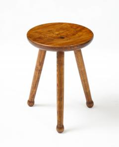 Ren Gabriel Style Low Table Stool France c 1950 - 2115243