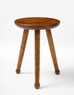 Ren Gabriel Style Low Table Stool France c 1950 - 2115248