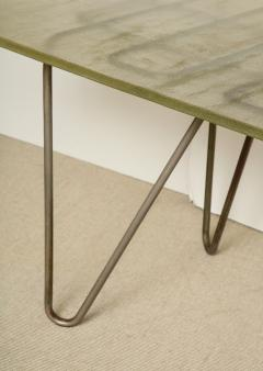 Ren Herbst Dining Table Desk in the style of Rene Herbst - 1391110