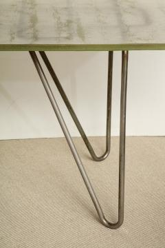 Ren Herbst Dining Table Desk in the style of Rene Herbst - 1391112