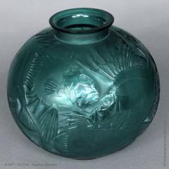Ren Lalique Lalique Co A Tile Green R Lalique Poissons Designed In 1921 - 1453645