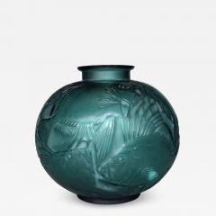 Ren Lalique Lalique Co A Tile Green R Lalique Poissons Designed In 1921 - 1456299