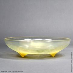 Ren Lalique Lalique Co A Volubilis Yellow Bowl By R Lalique Made In 1921 - 1453646