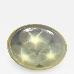 Ren Lalique Lalique Co A Volubilis Yellow Bowl By R Lalique Made In 1921 - 1456300