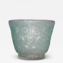 Ren Lalique Lalique Co An Edelweiss R Lalique Vase Made In 1937 - 1446486