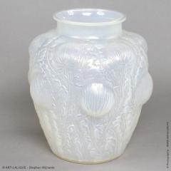 Ren Lalique Lalique Co An Opalescent Domremy Vase Designed By R Lalique In 1926 - 1453656