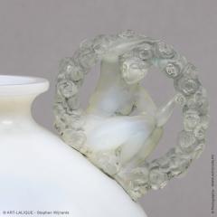 Ren Lalique Lalique Co An Opalescent Ronsard Vese By R Lalique In 1926 - 1444581