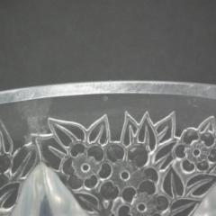 Ren Lalique Lalique Co Art Deco Rene Lalique Opalescent Glass Rampillion Vase - 2005245