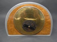 Ren Lalique Lalique Co Ren Lalique Glass Moineaux Sparrows Clock - 1990430