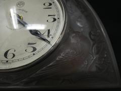 Ren Lalique Lalique Co Ren Lalique Glass Moineaux Sparrows Clock - 1990431