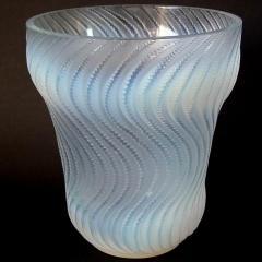 Ren Lalique Lalique Co Ren Lalique Opalescent Glass Actinia Vase - 1745960