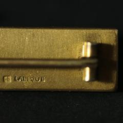 Ren Lalique Lalique Co Rene Lalique Barrette Oiseaux Hair Clip or Brooch - 1982291