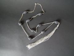 Ren Lalique Lalique Co Rene Lalique Black Glass Grosses Graines Necklace - 2005194