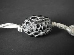Ren Lalique Lalique Co Rene Lalique Black Glass Grosses Graines Necklace - 2005195