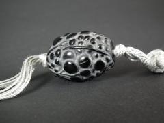 Ren Lalique Lalique Co Rene Lalique Black Glass Grosses Graines Necklace - 2005198