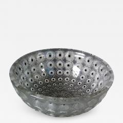 Ren Lalique Lalique Co Rene Lalique Clear Frosted Glass Nemours Bowl - 1995173