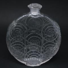 Ren Lalique Lalique Co Rene Lalique Clear Glass Forvil 8 Relief Perfume Bottle - 1755002