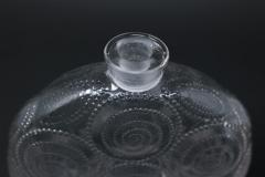 Ren Lalique Lalique Co Rene Lalique Clear Glass Forvil 8 Relief Perfume Bottle - 1755005