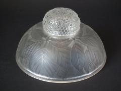 Ren Lalique Lalique Co Rene Lalique Clear and Frosted Glass Cernay Inkwell - 2004202