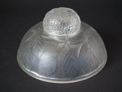 Ren Lalique Lalique Co Rene Lalique Clear and Frosted Glass Cernay Inkwell - 2004206
