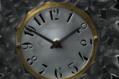 Ren Lalique Lalique Co Rene Lalique Frosted Glass Roitelets Clock - 1990371