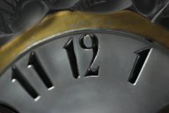 Ren Lalique Lalique Co Rene Lalique Frosted Glass Roitelets Clock - 1990372