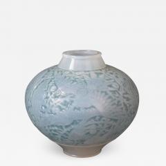 Ren Lalique Lalique Co Rene Lalique Opalescent Glass Aras Vase - 2010153