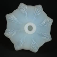 Ren Lalique Lalique Co Rene Lalique Opalescent Glass Malines Vase - 1754996