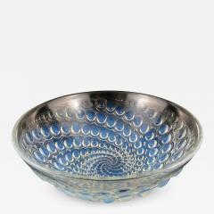 Ren Lalique Lalique Co Rene Lalique Volutes pattern opalescent glass bowl C 1934 - 1497174