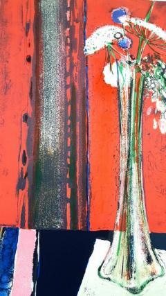 Ren Lenig Ren Lenig Original Handsigned Lithograph Ecole de Paris Circa 1960 - 1076219