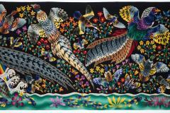 Ren Perrot Amazing tapestry by Ren Perrot La grande cascade  - 1867899