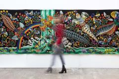 Ren Perrot Amazing tapestry by Ren Perrot La grande cascade  - 1867900