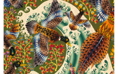 Ren Perrot Sublime Tapestry by Ren Perrot The Wave  - 1916666