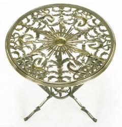 Rena Rosenthal Rena Rosenthal Cast Metal Art Deco Table - 280239