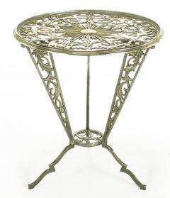 Rena Rosenthal Rena Rosenthal Cast Metal Art Deco Table - 280241
