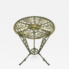 Rena Rosenthal Rena Rosenthal Cast Metal Art Deco Table - 320700