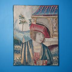 Renaissance Flemish Tapestry Fragment - 1227778
