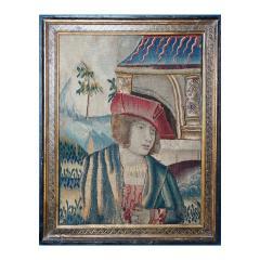 Renaissance Flemish Tapestry Fragment - 1227779