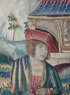 Renaissance Flemish Tapestry Fragment - 1228425