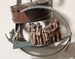 Renato Bassoli Renato Bassoli Sculpture The Wedding Made in 1960 in Italy - 468218