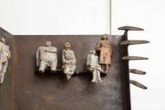Renato Bassoli Wall Sculpture the Ride Made in Italy by Renato Bassoli - 463388