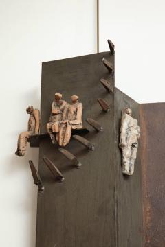 Renato Bassoli Wall Sculpture the Ride Made in Italy by Renato Bassoli - 463391