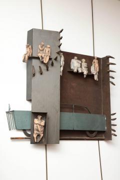 Renato Bassoli Wall Sculpture the Ride Made in Italy by Renato Bassoli - 463392