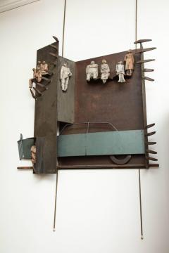 Renato Bassoli Wall Sculpture the Ride Made in Italy by Renato Bassoli - 463393