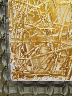 Renato Freitas Abstract Oil on Canvas - 510230